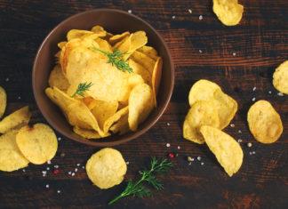 chipsy, przekąski