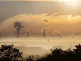 zanieczyszczone powietrze smog
